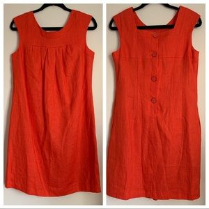 AGB Linen Shift Dress